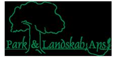 Park & Landskab – Anlægsgartneri, Legepladser, Kunstgræs i Østjylland, Randers Logo